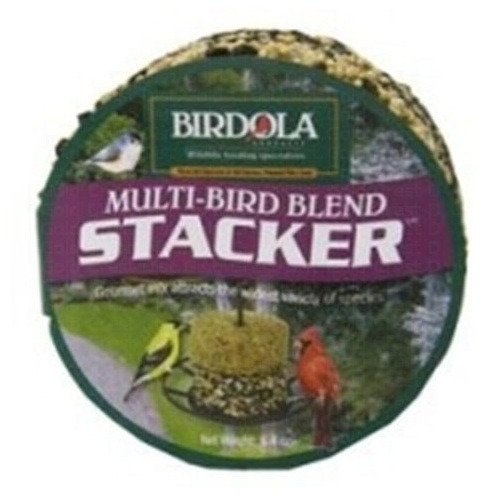 Birdola Products Multi-Bird Blend Stacker Cake