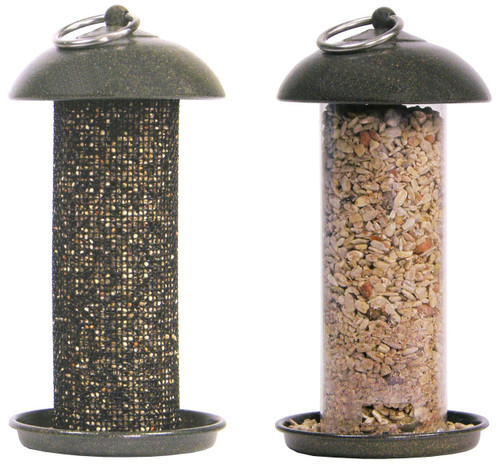 Hiatt Manufacturing Easy Clean Seed & Thistle Feeder Set