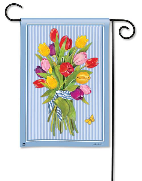 Magnet Works Tulips Garden Flag