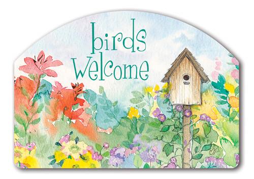 Magnet Works Birds Welcome