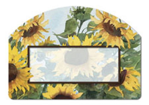 Magnet Works Sunflowers Yard DeSign
