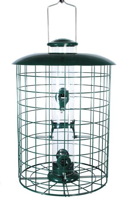 Woodlink Caged 6 Port Seed Tube Feeder