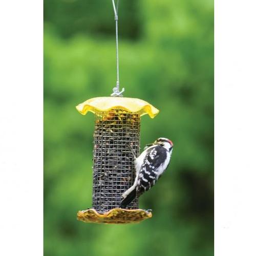 BIRDS CHOICE 1 QT. YELLOW-SUNFLOWER BIRD FEEDER