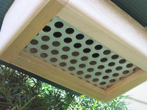 """Nature Products The Nuthatch Peanut Bird Feeder 2280 9""""x10""""x4"""" Red Roof"""