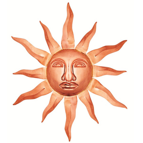 Good Directions Medium Sunface - Polished Copper 761P