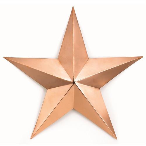 Good Directions Med Copper Star - Polished Copper 221C