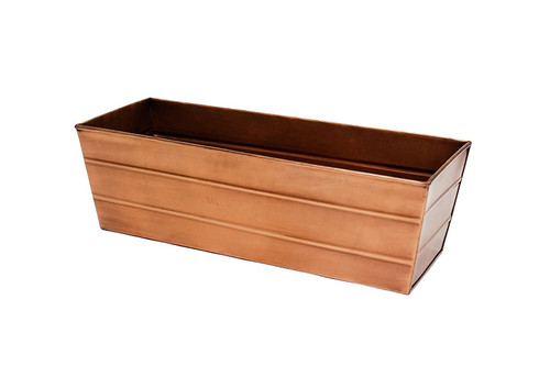 Achla Copper Plated Window Box - Med   C-20C