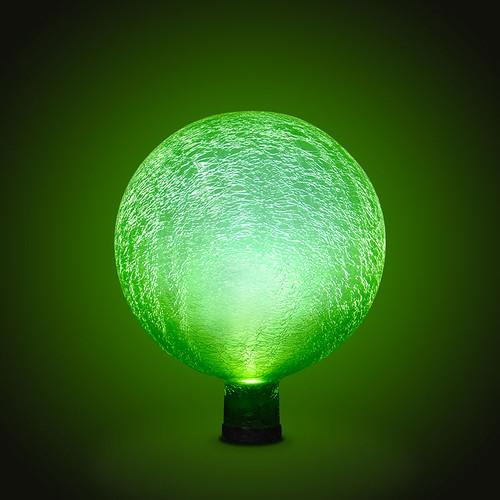 """Achla Gazing Globe Ball 10"""" Fern Green Frosted G10-FG-F"""