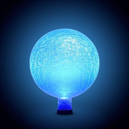 "Achla Gazing Globe Ball 10"" Blue Lapis Frosted G10-BLL-F"