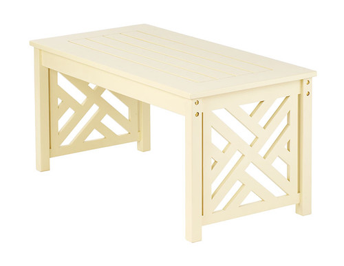 Achla Fretwork Coffee Table  OFT-10A