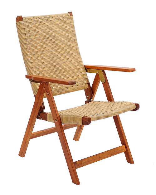 Achla Poly Weave Folding Chair  OFC-03