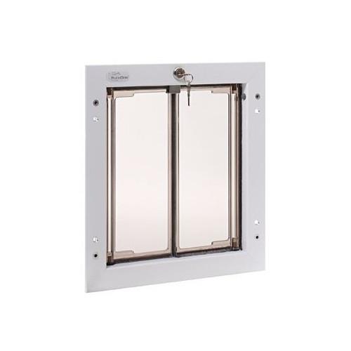 PlexiDor Performance Pet Door Dog Door PD DOOR MEDIUM WH WHITE