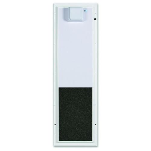 PlexiDor Performance Pet Door Electric Dog Door PDE DOOR LARGE WH WHITE