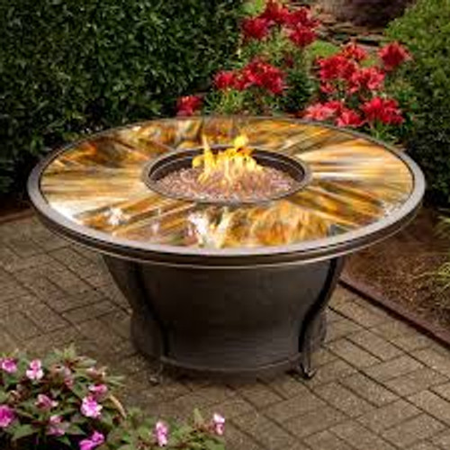 Oakland Living Moonlight Gas Fire Pit Table OAA2748