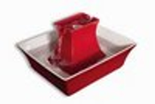 Drinkwell Pagoda Red Porcelain Fountain PWW00-14289