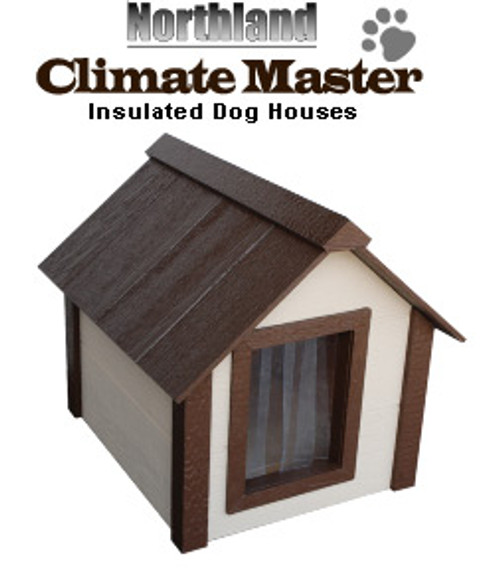 Northland CM-L Large Climate Master Insulated Large Dog  House