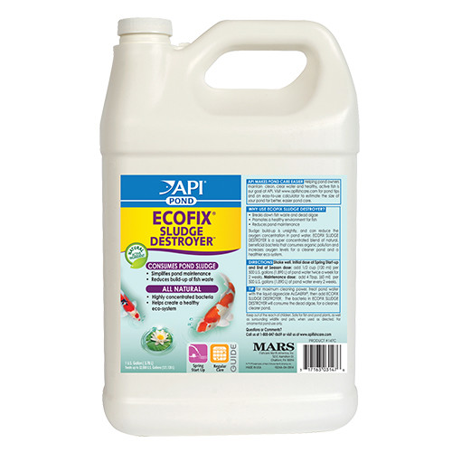 API Pond Care EcoFix Sludge Destroyer 1 Gallon 147 C Sludge Remover