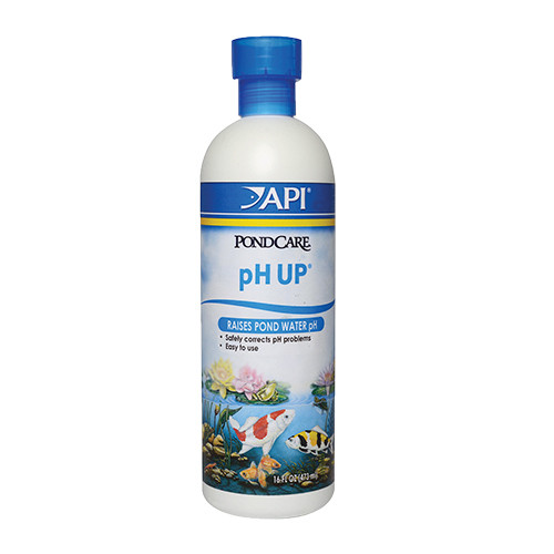 API Pond Care pH UP Aquarium and Pond pH Adjuster16 oz 171 B