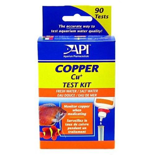 API Pond Care Copper Test Kit API 65 L 90 Tests