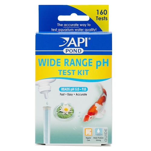 API Pond Care Wide Range pH Test Kit API 160 Performs 160 Tests