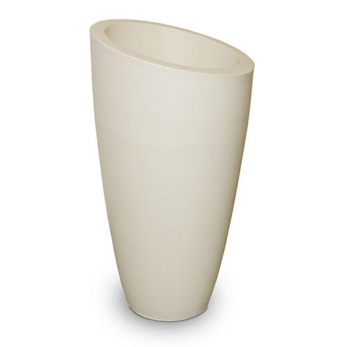 Mayne Modesto 42 inch Tall Planter Ivory 8881-IV
