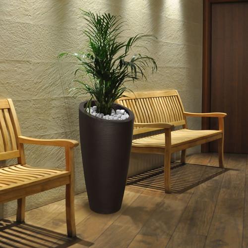 Mayne Modesto 32 inch Tall Planter Espresso 8880-ES
