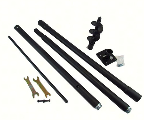 LPI Universal Mounting Pole Kit Ideal For Bird House, Bird Feeder & Fly Thru Feeders (LPIUPK)