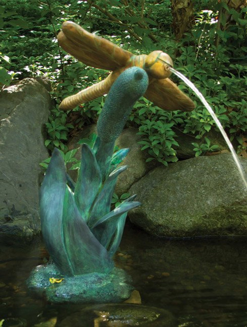 Aquascape DragonFly Spitter Fountain With Pump AQS 78209