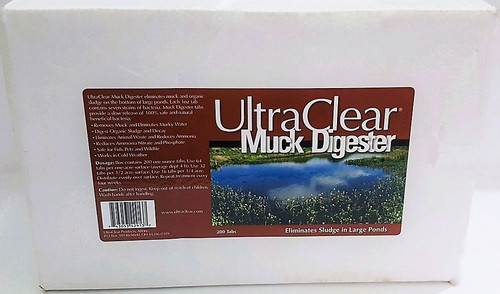 Ultra Clear Muck Digester Tabs 25 lb. 400 Tabs 4290 Treats 6 Acres