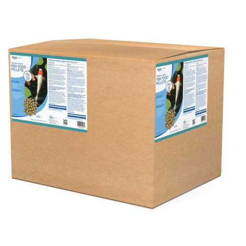 Aquascape Premium Staple Fish Food Pellets Large Pellet 44 lbs. 50003