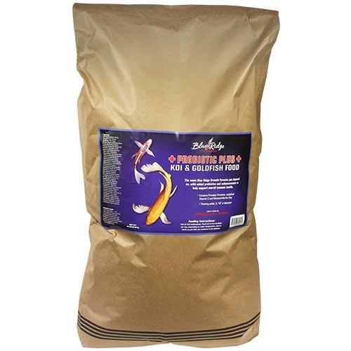 Blue Ridge Probiotic Plus Koi & Goldfish Food 40 lbs