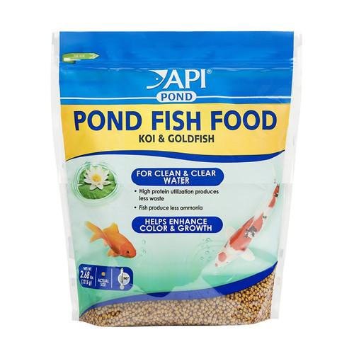 API Pond Care Fish Food Pond Fish Food 2.68 lb. Bag 198F