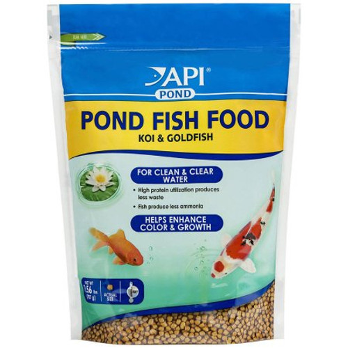 API Pond Care Fish Koi Goldfish Fish Food 1.56 lb. Bag 198 D