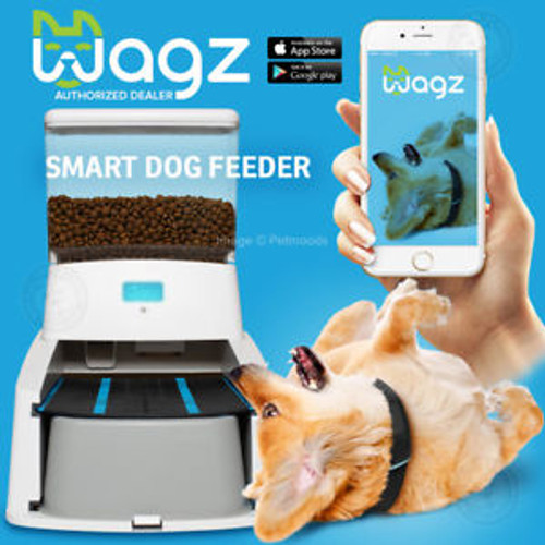 Wagz Smart Automatic Dog Feeder Dog Food Dispenser With Video and Portion Control (DF008)