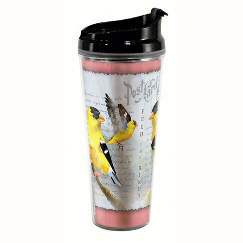 American Expedition Goldfinch Postcard Tall Tumbler 24 oz AMETB24243