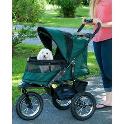 Pet Gear Jogger NO-ZIP Pet Stroller FOREST GREEN PG8400NZFG