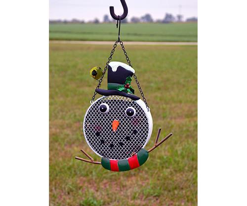 Gift Essentials Snowman Mesh Birdfeeder GEF1008
