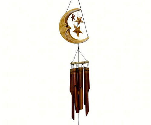 Cohasset Gifts Moon & Stars Antique Finish Chime CH179A