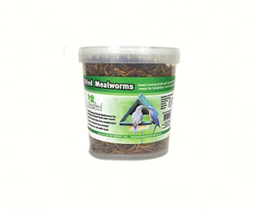 Songbird Essentials 7 oz Tub of Dried Mealworms SE647