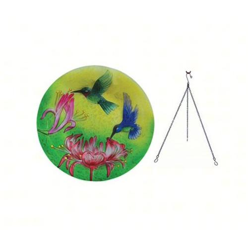 Songbird Essentials Fluttering Hummingbirds Hanging Birdbath SE5045