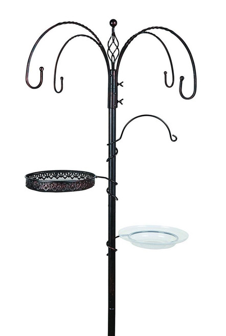 Rainbow Gardman World Source Par Bird Feeding Station Antique Bronze BA09714