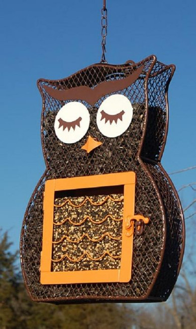 Heath Owl Dual Seed and Suet Bird Feeder HEATH 21703