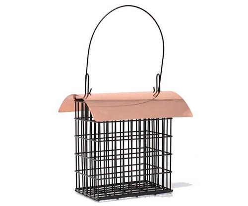 Songbird Essentials Deluxe Double Suet Cage w/Copper Roof 105