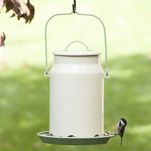 Perky Pet Milk Pail Bird Feeder MCF001