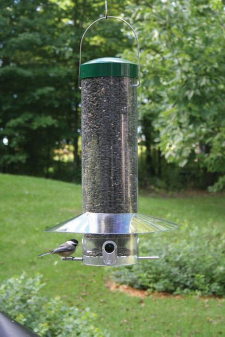 """Birds Choice 20"""" Classic Hanging Bird Feeder With Squirrel Baffle / Weather Guard NP436"""