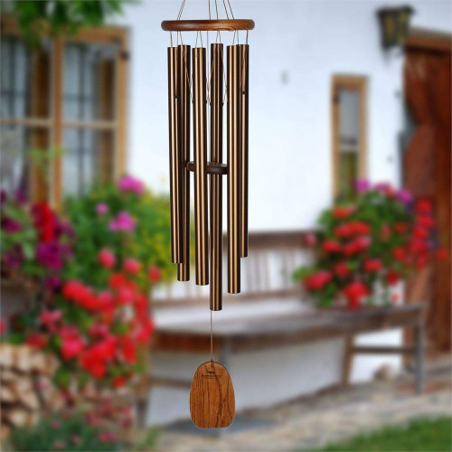 Woodstock Chimes Amazing Grace Large Bronze Windchime AGLBR