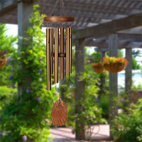 Woodstock Chimes Amazing Grace Small Bronze Windchime AGSBR