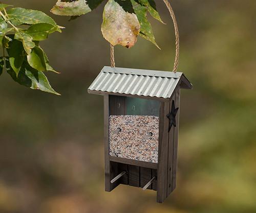 Woodlink  Rustic Farmhouse Finch Bird Feeder 28704