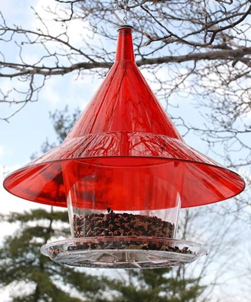 Arundale Red Sky Cafe Squirrel Proof Bird Feeder AR360R