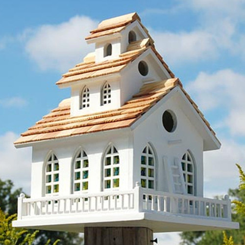 Home Bazaar Chapel Bell Bird House 2047